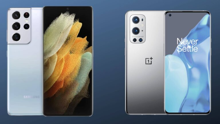 Galaxy S21 Ultra vs OnePlus 9 Pro